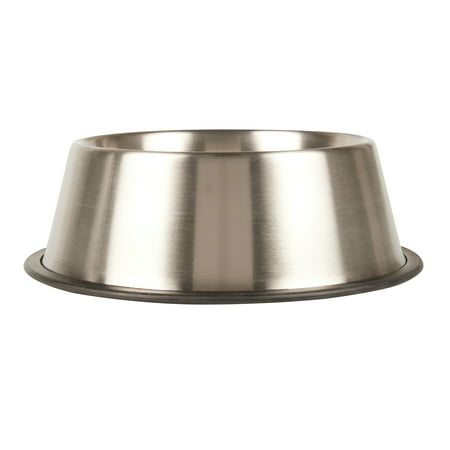 Vibrant Life Stainless Steel Dog Bowl, - Good Dog Dog Bowl