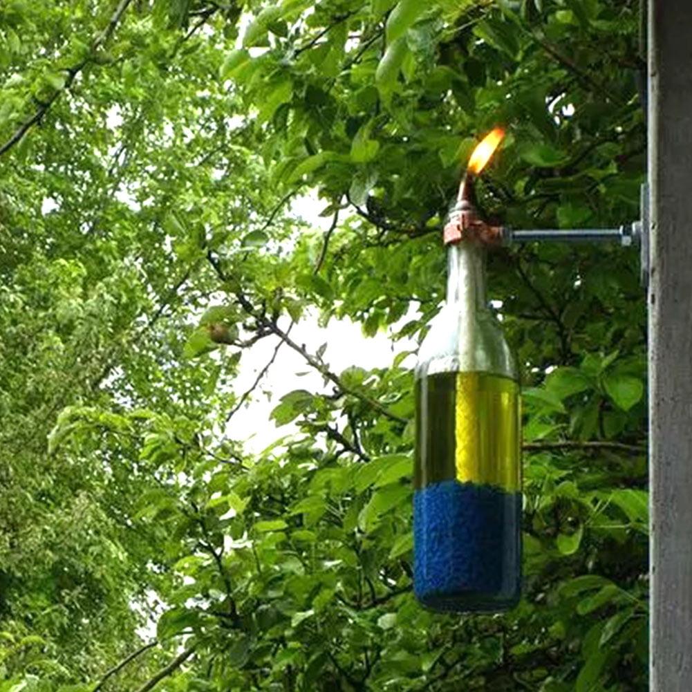 12pcs Replacement Fiberglass Tiki Wick for Garden Light Garden Patio Lighting