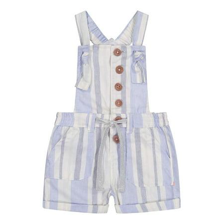 Jessica Simpson Toddler Girls Striped Shortall