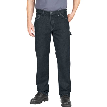Genuine Dickies Men's Relaxed Fit Straight Leg Utility Jeans