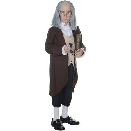 Ben Franklin Boys Child Halloween Costume - Halloween Franklin Street