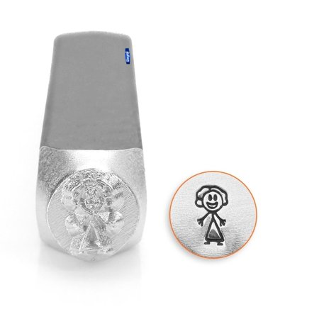 Mom Stick Figure 7mm Metal Design Stamp Impressart Jewelry Craft Decorative - Cute Mothers Day Crafts