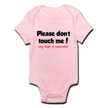 05c411f9ecf CafePress - CafePress - Please Don't Touch Me! Infant Bodysuit - Baby Light  Bodysuit - Walmart.com