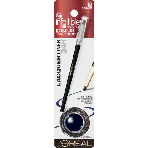 L'Oreal Paris Infallible Lacquer Liner 24H Eyeliner, Navy