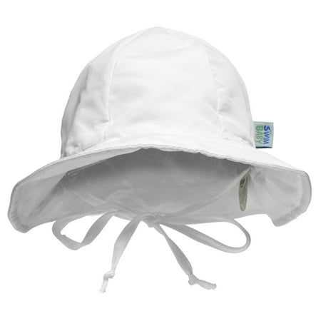 My Swim Baby Sun Hat, White, Medium