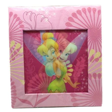 Disney's Tinker Bell Hologram Cover Pink Floral Photo Album (6x8in) Disney Tinkerbell Photo Albums