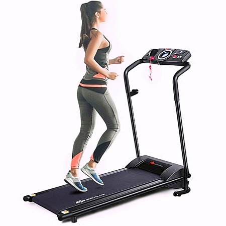 1.0 HP Folding Fitness Electric Treadmill Electric Running Fitness Machine