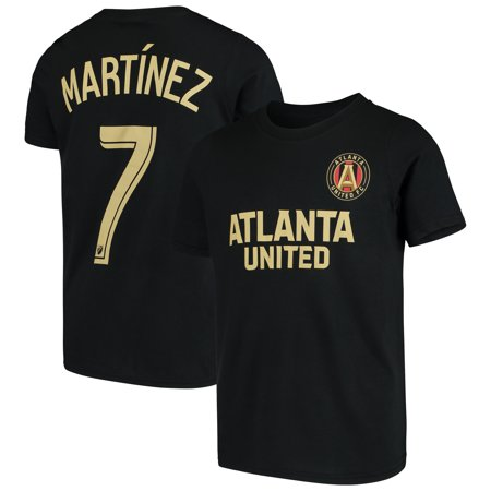 Josef Martinez Atlanta United FC Youth Name & Number T-Shirt - Black (Fc Youth Home Jersey)
