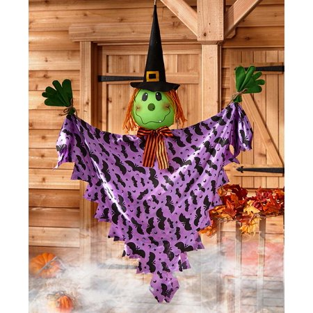 The Lakeside Collection Hanging Halloween Decor - Witch](Halloween Date Nz)