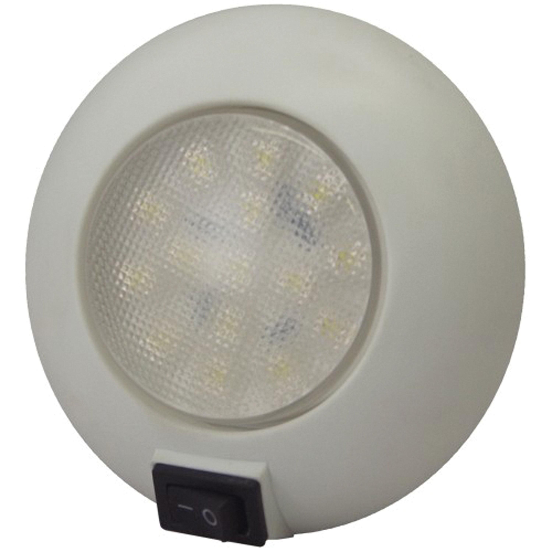 T-H Marine LED-51829-DP LED Surface Mount Dome Light