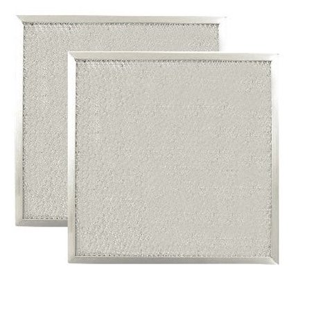 2 PACK 9 X 9 X 3/8 Range Hood Aluminum Grease Filters