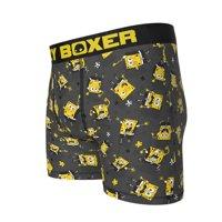 Spongebob Squarepants Character Boxer Briefs-Small