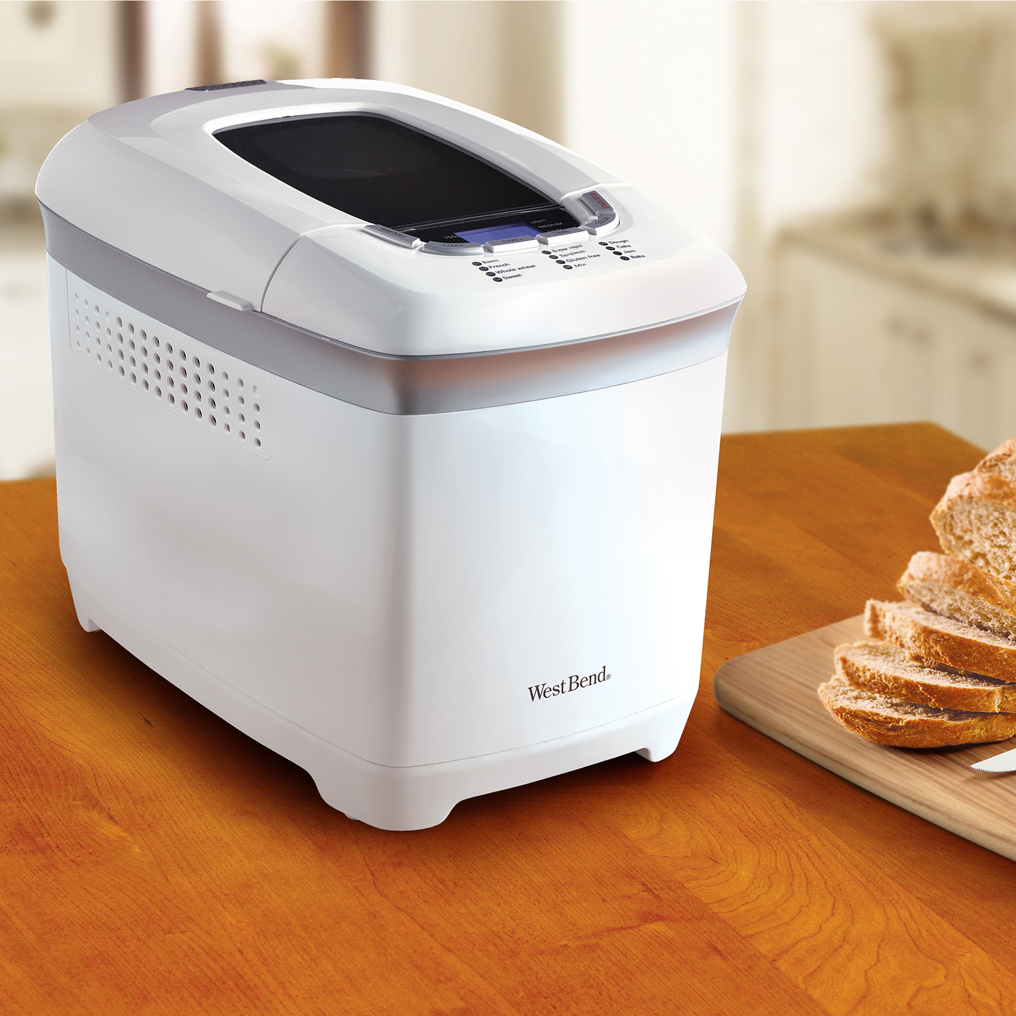 West Bend 2-lb Loaf Capacity Hi-Rise Breadmaker