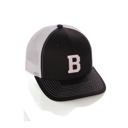 Team Sports Custom Initial Letter B Trucker Hat Adjustable Snapback Baseball Cap](Custom Raiders Hat)
