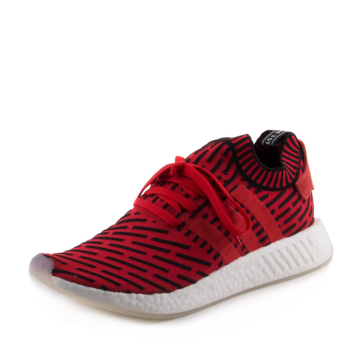 Adidas Mens NMD_R2 PK Red/Black BB2910
