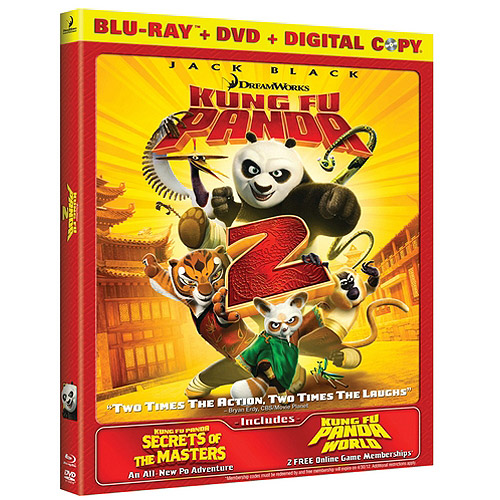 Kung Fu Panda 2 (Blu-ray   DVD) (Widescreen)