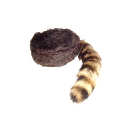 Coonskin Cap, Davy Crockett Cap - Coonskin Caps