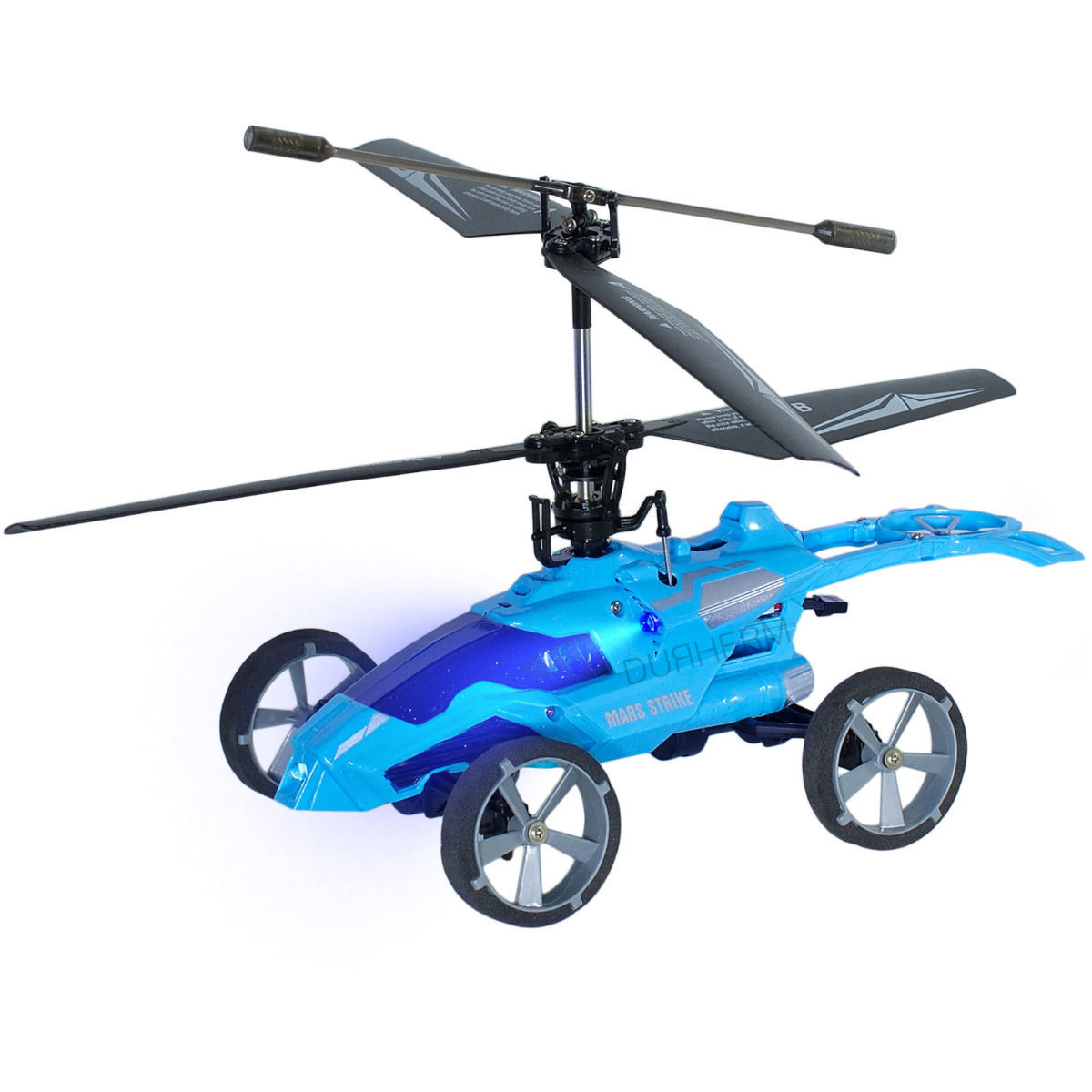 Helicopter Transforms into a Car with IR Flying Driving Shooting Fighting Battle Gyro Remote Controlled 3.5CH Toy