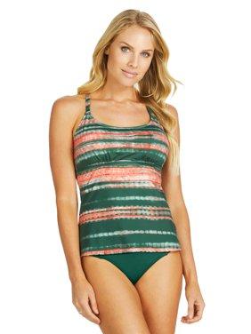 ce19bca85ef8c Product Image Leilani Women s Shoreline Solids Shirred Side Basic Pant Swim  Bottom