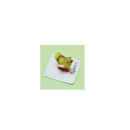 PEP The Chick - Tynies Miniature Glass Figurine (Miniature Figurines)