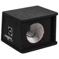 """Skar Audio SK1X8V Single 8"""" Universal Fit Ported Subwoofer Enclosure"""