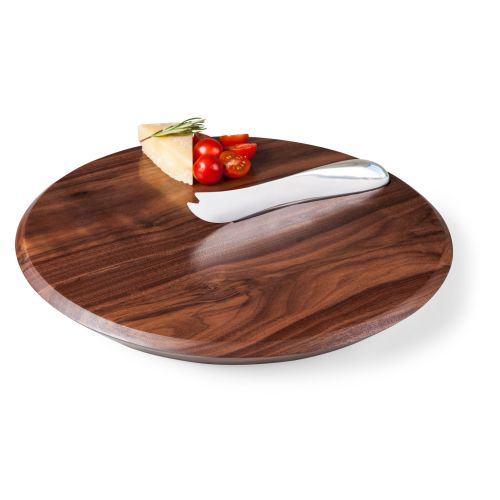 Picnic Time Solstice Cutting Board and Cheese Knife Set