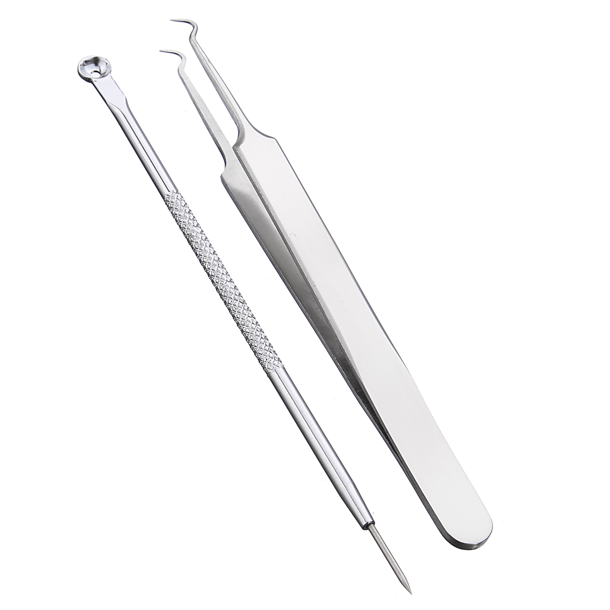 Luckyfine Pro Blackhead Acne Pimple Comedone Extractor Remover Tool Set OLAY Active Hydrating Beauty Fluid Original 6 oz (Pack of 3)