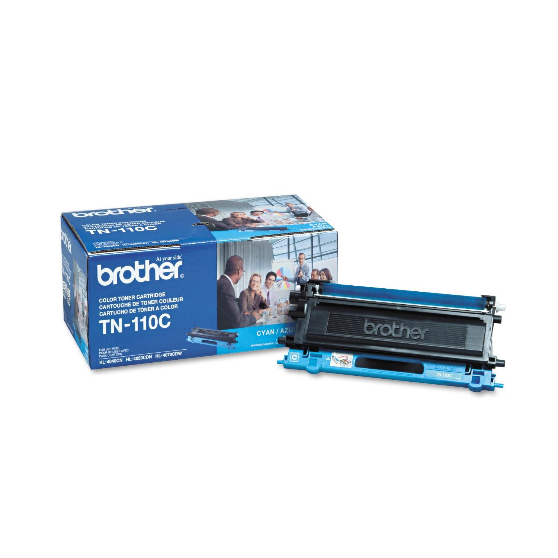 Brother TN110C Toner, Cyan