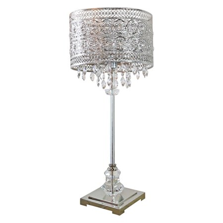 River of Goods Brielle Crystal Buffet Table Lamp