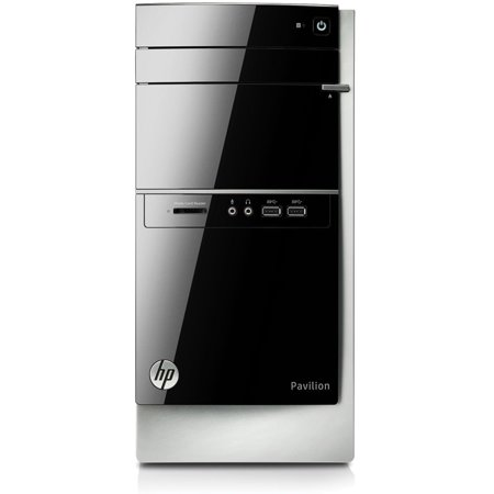 Refurbished HP Black Pavilion 500-336 Desktop PC with Intel Core i3-4130 Processor, 4GB Memory, 1TB Hard Drive and Windows 8.1 (Monitor Not Included) (Free Windows 10 Upgrade before July 29, 2016)
