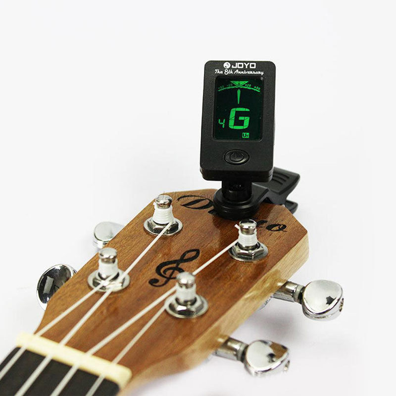 Minch Portable Clip On Digital Tuner For Acoustic Electric Guitar Bass Violin Ukulele by