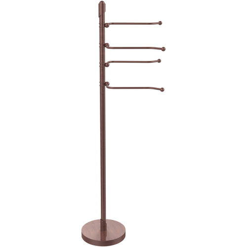 Soho Collection Free-Standing 4 Pivoting Swing Arm Towel Stand (Build to Order)