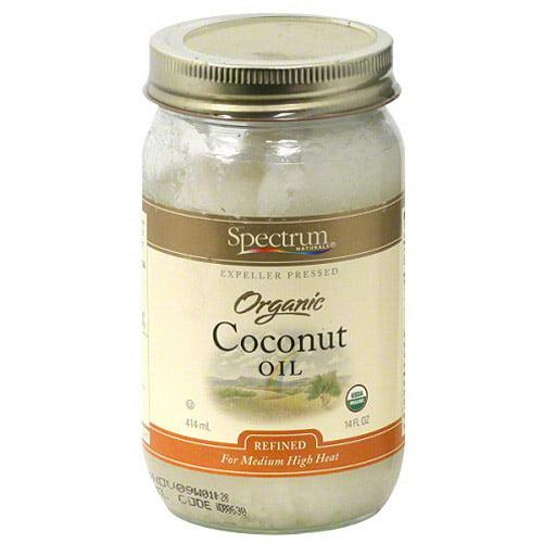 Spectrum Organic Coconut Oil, 14 oz (Pack of 6)
