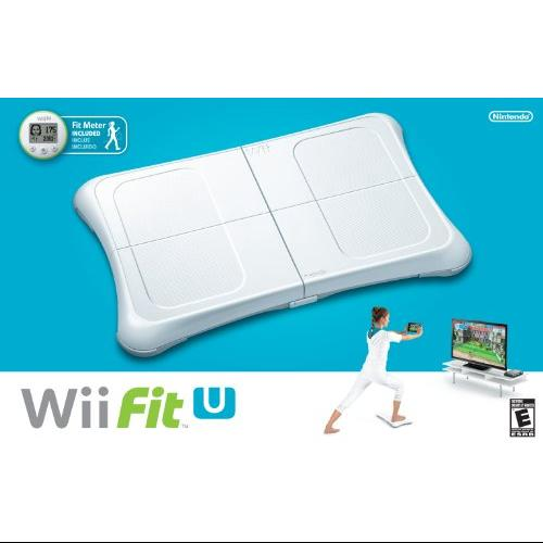 Nintendo WIIFITU2 Wii U Fit Balance Board And Meter