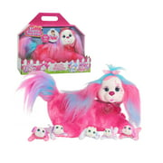 Puppy Surprise Cassie, Pink, Stuffed Animal Dog and Babies, Toys for Kids, By Just Play