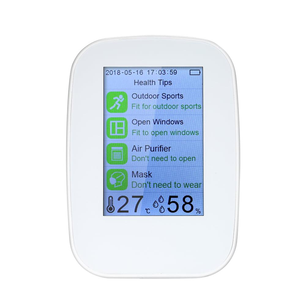 Digital Formaldehyde Meter PM2.5 HCHO TVOC Air Quality Gas Detector Monitor