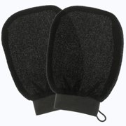 Belloccio® Set of 2 Premium Tanning Exfoliating Glove Mitts; Preparation Shower Scrub Gloves for Sunless Self Tanning