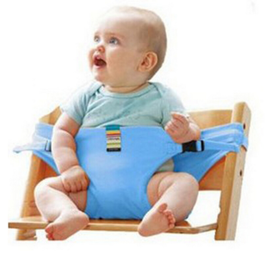 Safety Strap for Seating, Coxeer Washable Portable Baby Feeding High Chair Belt Toddler Safety Seat with Strap