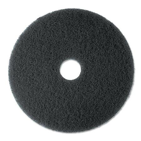 3M High Productivity Black Floor Pad 7300, 13