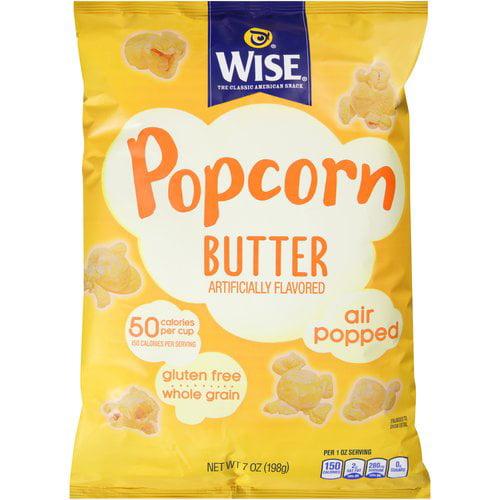 Wise Butter Popcorn, 7 oz