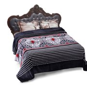 """Cozy Warm Flannel Blanket for Bed Couch Super Warm Bed Blanket Cal King 91 x 103"""""""
