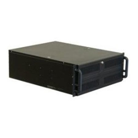 Norco 89762 Case Rackmount 4u Rpc-450b Black 3/0/[11] Bays 1xusb Case Only ()