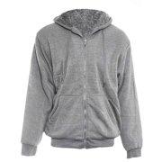 Alta Men's Hoodie Zip Up Jacket Sherpa Lined Fleece Sweater