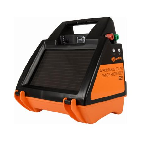Solar Fence Charger, S22, 0.22 Joules, Gallagher, G344414