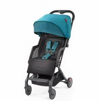 Diono Traverze Plus Lightweight Compact Stroller with Easy Fold, Travel Cover and Luggage Handle; Black