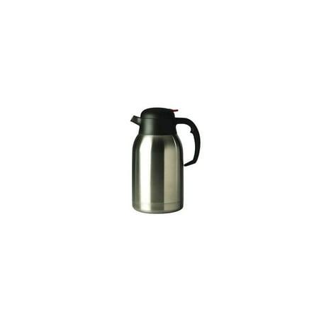 Oneida Serveware (Oneida J0010511A Grand Cafe S/S Push Button Insulated 68 oz Coffee Pot)