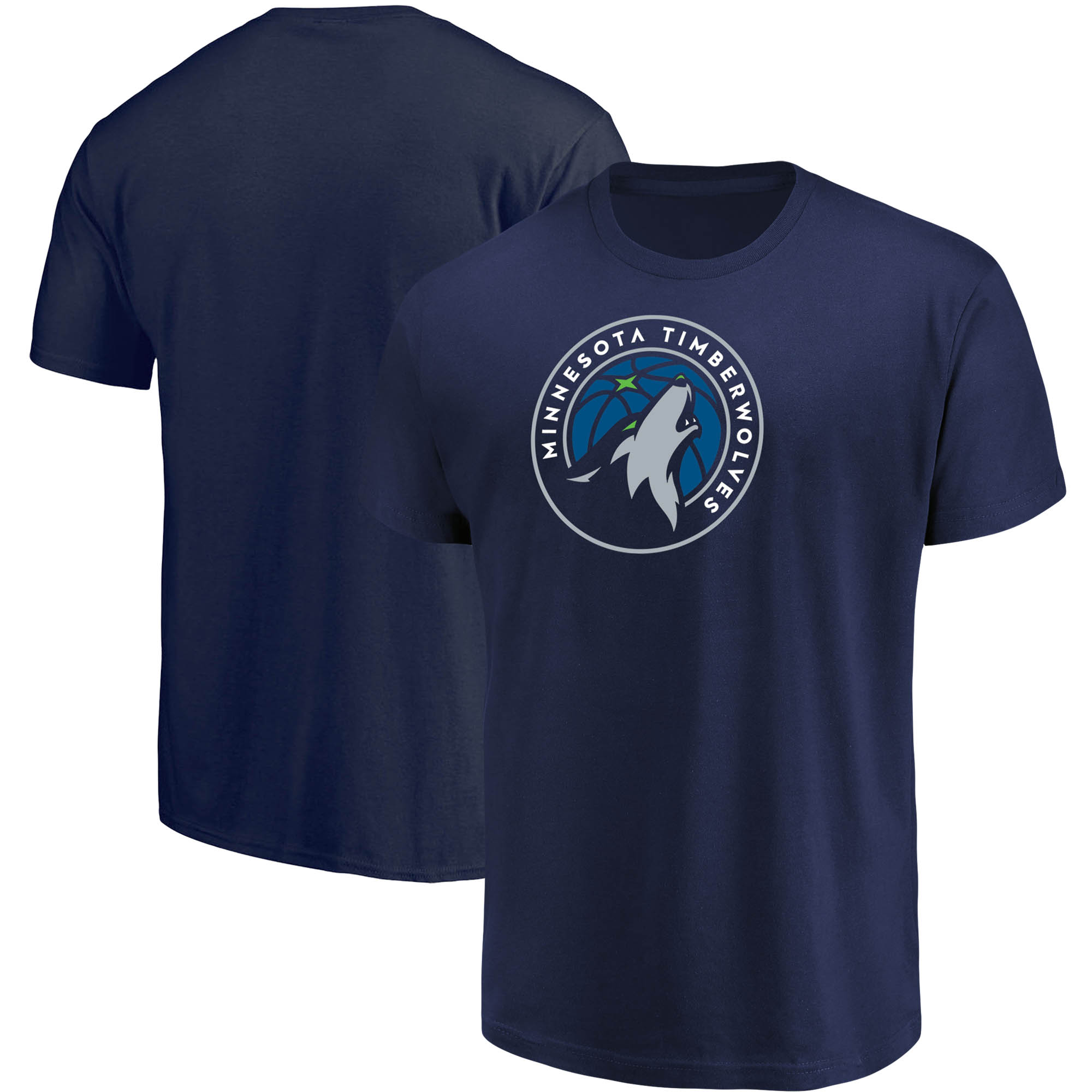 Men's Majestic Navy Minnesota Timberwolves Victory Century T-Shirt