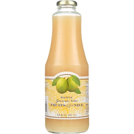 Fruits Of The Nile Gourmet Nectar Guava  33 8 Fl Oz