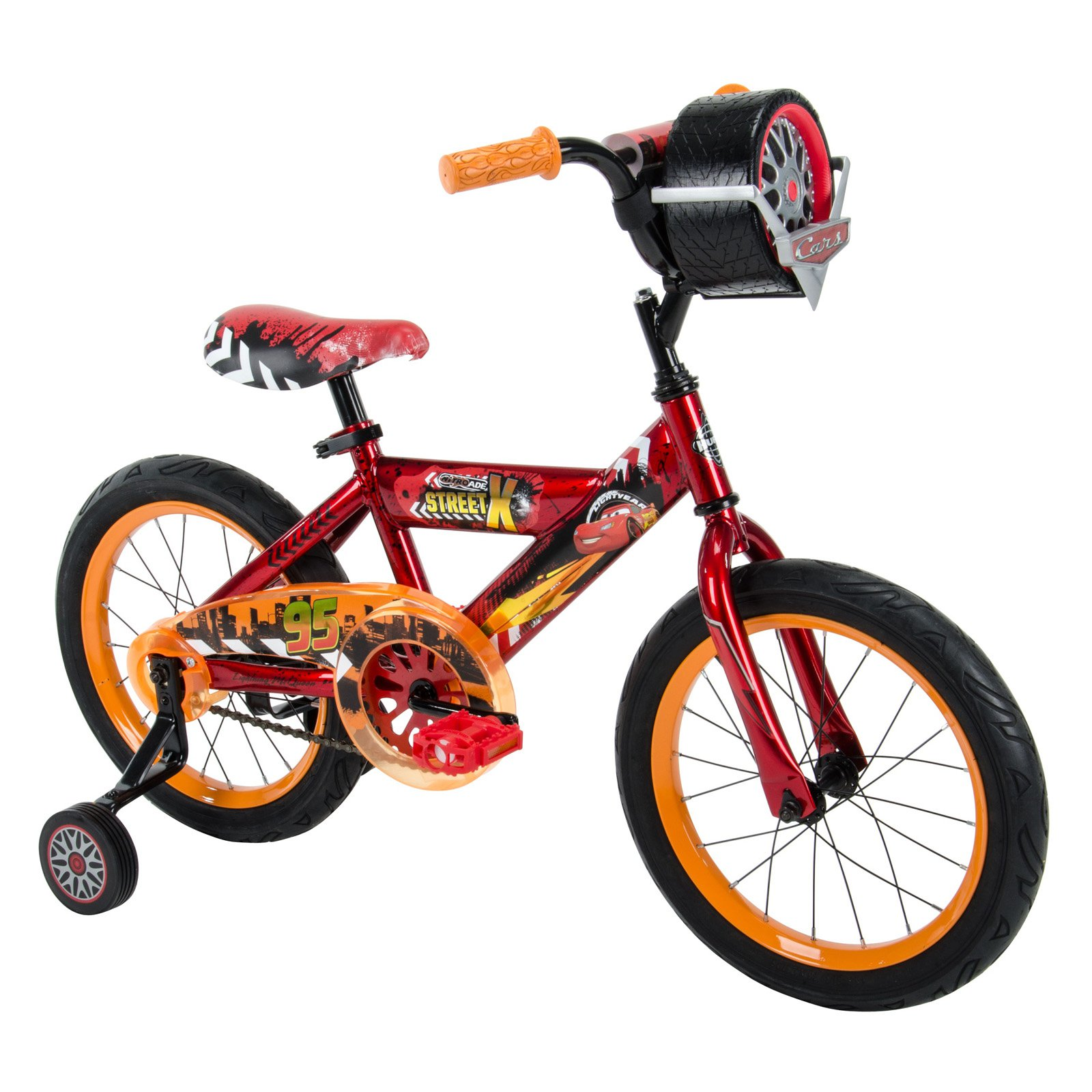 Huffy 16 in. Disney Cars 3 Bike with Race-Ready Tire Case by