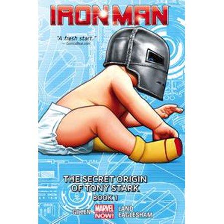 Iron Man Vol. 2: The Secret Origin of Tony Stark Book 1 - - Tony Stark Wig